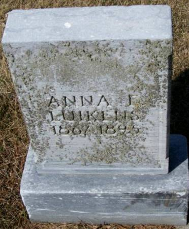 LUIKENS, ANNA E. - Plymouth County, Iowa   ANNA E. LUIKENS
