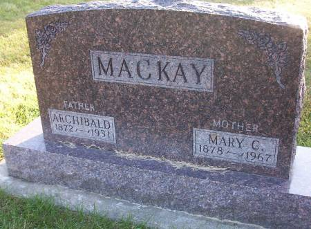 MACKAY, MARY C. - Plymouth County, Iowa | MARY C. MACKAY