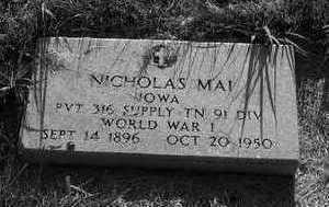 MAI, NICHOLAS - Plymouth County, Iowa | NICHOLAS MAI