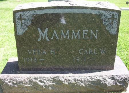 MAMMEN, CARL WILLIAM