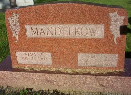 MANDELKOW, EMIL W. - Plymouth County, Iowa   EMIL W. MANDELKOW