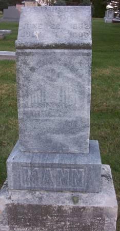 MANN, SAMUEL S. - Plymouth County, Iowa | SAMUEL S. MANN