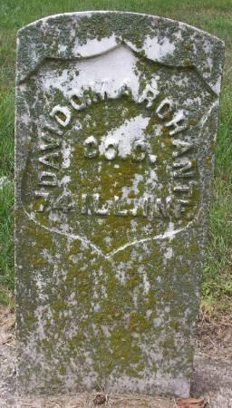 MARCHANT, DAVID O. - Plymouth County, Iowa   DAVID O. MARCHANT