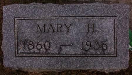 MARCUE, MARY H. - Plymouth County, Iowa | MARY H. MARCUE
