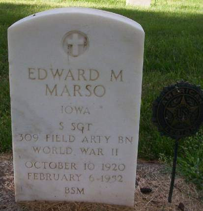 MARSO, EDWARD M. - Plymouth County, Iowa | EDWARD M. MARSO