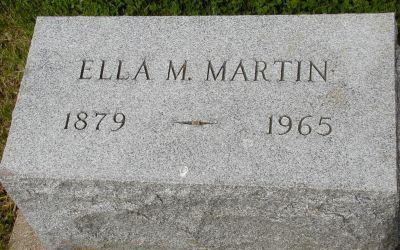 MARTIN, ELLA M - Plymouth County, Iowa | ELLA M MARTIN