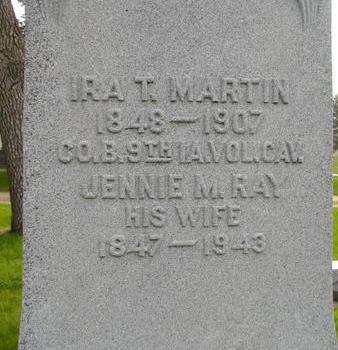 MARTIN, IRA T - Plymouth County, Iowa | IRA T MARTIN