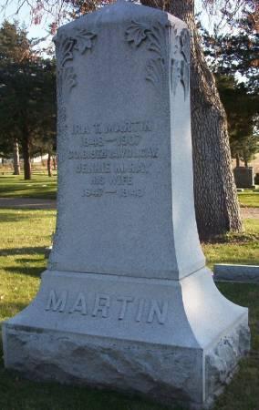 RAY MARTIN, JENNIE M. - Plymouth County, Iowa | JENNIE M. RAY MARTIN