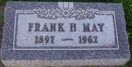 MAY, FRANK HERMAN - Plymouth County, Iowa | FRANK HERMAN MAY