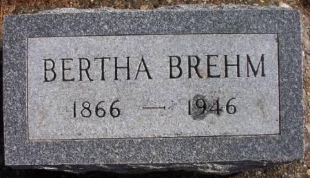 BREHM MAYNE, BERTHA - Plymouth County, Iowa   BERTHA BREHM MAYNE
