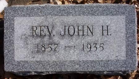 MAYNE, JOHN H. (REV.) - Plymouth County, Iowa | JOHN H. (REV.) MAYNE