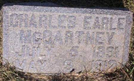 MC CARTNEY, CHARLES EARLE - Plymouth County, Iowa   CHARLES EARLE MC CARTNEY