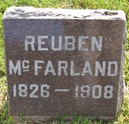 MC FARLAND, REUBEN - Plymouth County, Iowa | REUBEN MC FARLAND