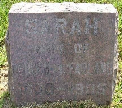 MC FARLAND, SARAH - Plymouth County, Iowa | SARAH MC FARLAND