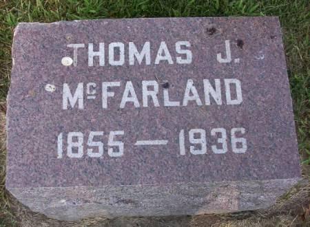 MC FARLAND, THOMAS J. - Plymouth County, Iowa | THOMAS J. MC FARLAND