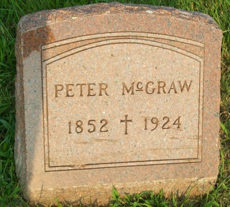 MCGRAW, PETER - Plymouth County, Iowa | PETER MCGRAW