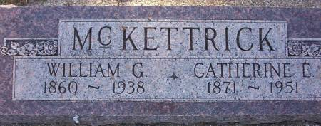 MC KETTRICK, WILLIAM G. - Plymouth County, Iowa | WILLIAM G. MC KETTRICK