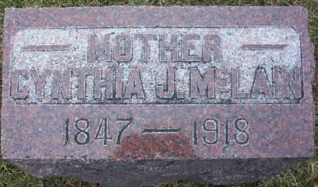 WOOD MCLAIN, CYNTHIA JANE - Plymouth County, Iowa | CYNTHIA JANE WOOD MCLAIN