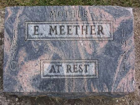 MEETHER, ERNESTINE - Plymouth County, Iowa | ERNESTINE MEETHER