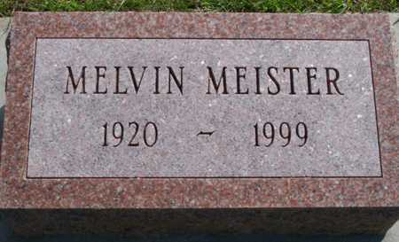 MEISTER, MELVIN - Plymouth County, Iowa   MELVIN MEISTER