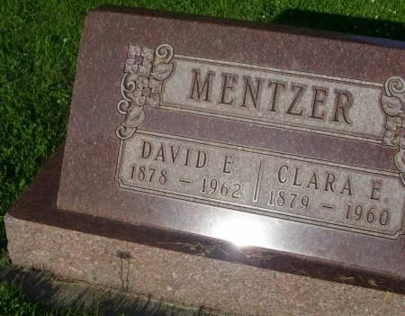 MENTZER, CLARA E. - Plymouth County, Iowa | CLARA E. MENTZER