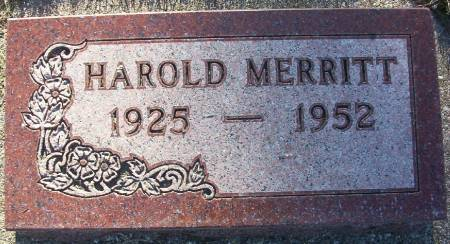 MERRITT, HAROLD - Plymouth County, Iowa | HAROLD MERRITT