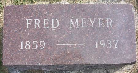 MEYER, FRED - Plymouth County, Iowa | FRED MEYER