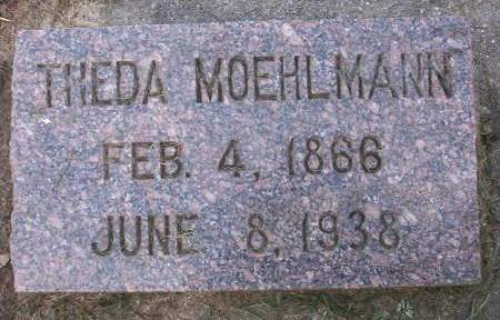 MOEHLMANN, THEDA - Plymouth County, Iowa | THEDA MOEHLMANN