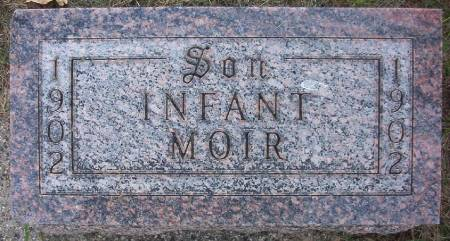 MOIR, INFANT SON - Plymouth County, Iowa | INFANT SON MOIR