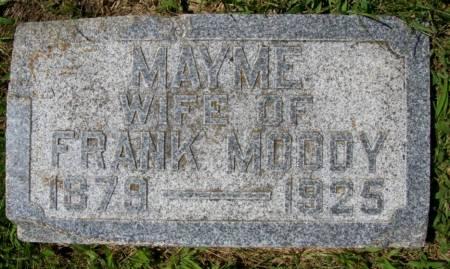 MOODY, MAYME - Plymouth County, Iowa   MAYME MOODY