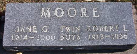 MOORE, ROBERT L. - Plymouth County, Iowa | ROBERT L. MOORE
