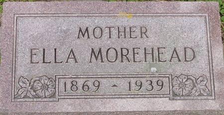 FLETCHER MOREHEAD, ELLA CAROLYN - Plymouth County, Iowa   ELLA CAROLYN FLETCHER MOREHEAD