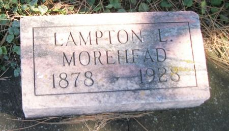 MOREHEAD, LAMPTON L. - Plymouth County, Iowa | LAMPTON L. MOREHEAD
