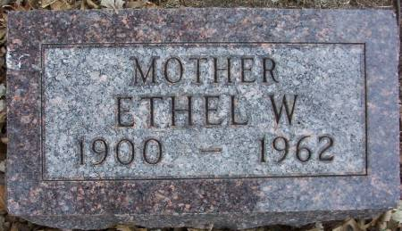 MORTENSEN, ETHEL W. - Plymouth County, Iowa | ETHEL W. MORTENSEN