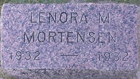 MORTENSEN, LENORA M. - Plymouth County, Iowa | LENORA M. MORTENSEN
