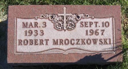 MROCZKOWSKI, ROBERT EUGENE - Plymouth County, Iowa   ROBERT EUGENE MROCZKOWSKI