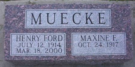 MUECKE, HENRY FORD - Plymouth County, Iowa | HENRY FORD MUECKE