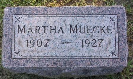 MUECKE, MARTHA - Plymouth County, Iowa | MARTHA MUECKE