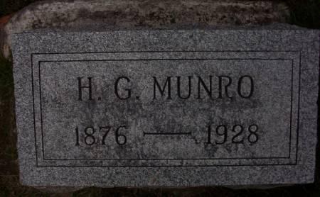 MUNRO, H.G. - Plymouth County, Iowa | H.G. MUNRO