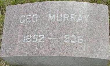 MURRAY, GEORGE - Plymouth County, Iowa   GEORGE MURRAY