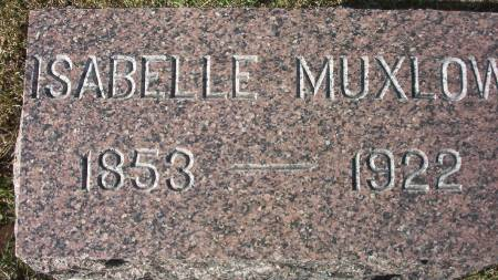 MUXLOW, ISABELLE - Plymouth County, Iowa | ISABELLE MUXLOW