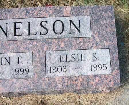NELSON, ELSIE S. - Plymouth County, Iowa | ELSIE S. NELSON