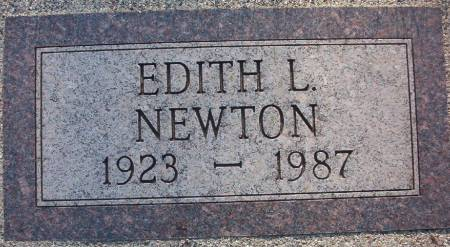 NEWTON, EDITH L. - Plymouth County, Iowa | EDITH L. NEWTON