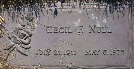 NULL, CECIL F. - Plymouth County, Iowa | CECIL F. NULL