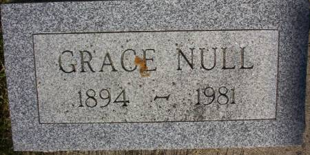 NULL, GRACE - Plymouth County, Iowa | GRACE NULL