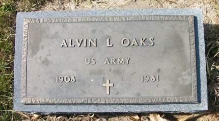 OAKS, ALVIN L. - Plymouth County, Iowa   ALVIN L. OAKS