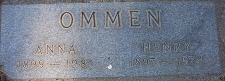 OMMEN, HENRY - Plymouth County, Iowa | HENRY OMMEN