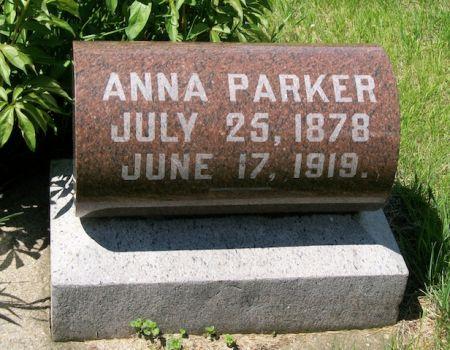 PARKER, ANNA - Plymouth County, Iowa | ANNA PARKER