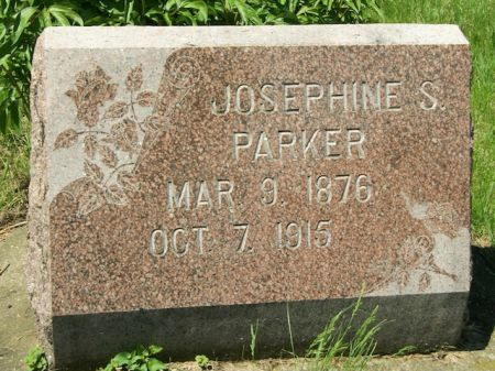 PARKER, JOSEPHINE S. - Plymouth County, Iowa   JOSEPHINE S. PARKER