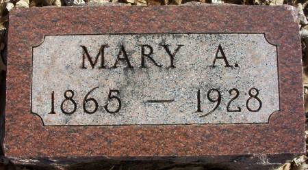 PARKER, MARY A. - Plymouth County, Iowa | MARY A. PARKER